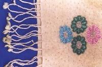 Silk Pashmina Embroidered Shawl