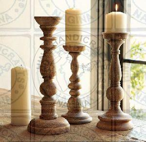 HHC150 Wooden Candle Holder