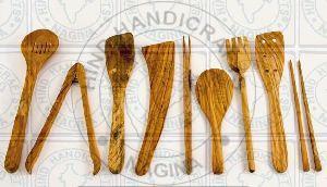 HHC167 Wooden Cutlery Set