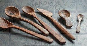 HHC168 Wooden Cutlery Set