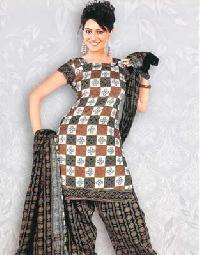 Ladies Cotton Bandhani Suits