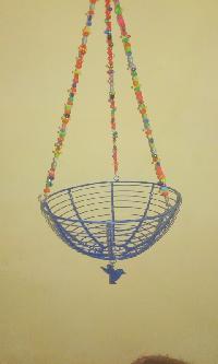 iron hanging baskets