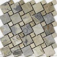 Autumn Slate Stone Mosaic Tiles