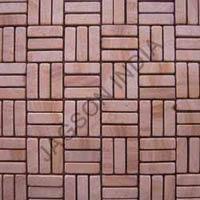 Teak Mosaic Tiles