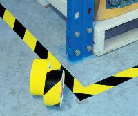 Floor Marking Tape-4169-Black & Yellow