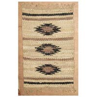 Hemp Leather Flat Weave Rugs Carpet