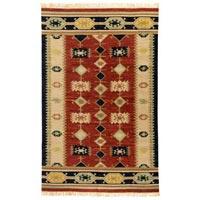 Wool Flat Weave Carpet