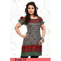 Printed Ladies Kurti Top