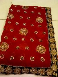 Hand Work Embroidery Sarees