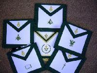 Allied Masonic Degrees Officers Apron Set