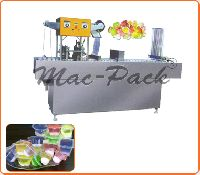 Automatic Jelly Cup Filling Sealing Machine