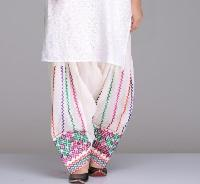 White Cotton Salwar