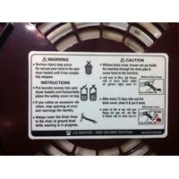 Warning Sticker 01