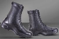 Metrogue Men's 8 Full Leather Side Zipper Boots