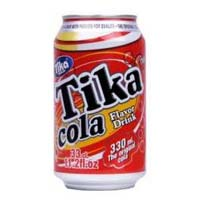 TIKA COLA CARBONATED SOFT DRINK 33CL CANNED