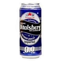 Vitalsberg Non Alcoholic Beer 33cl & 50cl canned