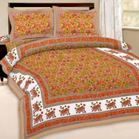 Designer Traditional Double Bed Cover