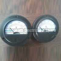Round Shaped Ampere Volt Meter