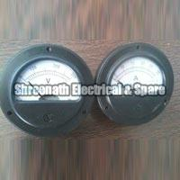 Round Shaped Ampere Volt Meter