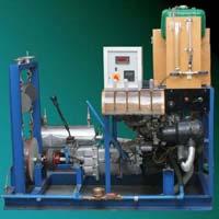 Multi Cylinder Four Stroke Petrol Engine Test Rig Rope Break Dynamometer