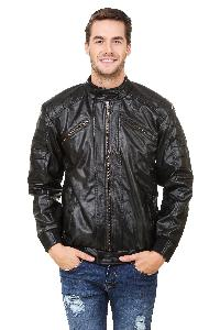 Glossy Leather Jacket