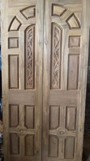 Teak wood door & Windows