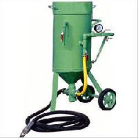 Portable Abrasive Blasting Machine