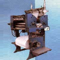 Printing Machine With Built In Roll Stand