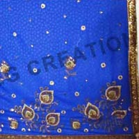 Embroidery Work Jari Work Sarees