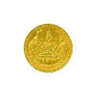 Bis Hallmarked 2 Grams 22k (916) Yellow Gold Precious Coin