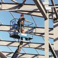 Mild Steel Structure Erection Services