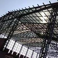 Mild Steel Structure Fabrication