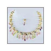 Studded Necklace-1321