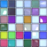 Multi Coloured Tiles