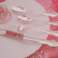 Pure Silver Cutlery - 24 Pcs Set