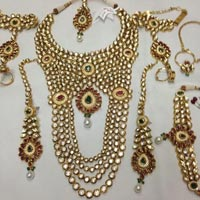 Bridal Kundan Necklace Set