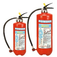 Abc-bc Squeeze Grip Cartridge Type Powder Fire Extinguishers