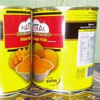 Canned Kesar Mango Pulp