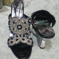 Crystal Beaded Sandals
