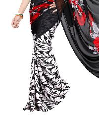Ladies Printed Synthetic Saree