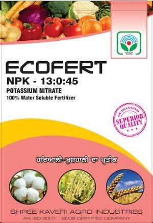 Ecofert Npk Water Soluble Fertilizer (potassium Nitrate)