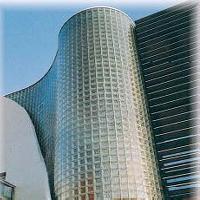 Glass Blocks Building Facade