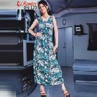 Printed Long Dresses