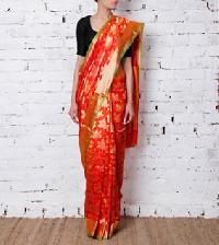 Designer Synthetic Saree