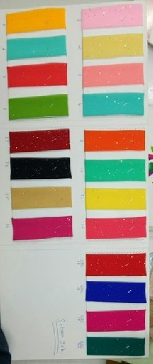 Georgette Sequence Sitara Fabric