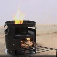 Natural Draft Biomass Cook Stove