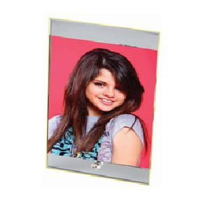 Glass Photo Frame Without Clock
