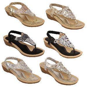 Ladies Platform Heel Sandals
