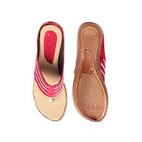 Ladies Party Wear Flat Slippers