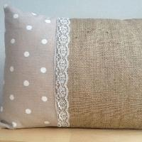 Jute Cushion Cover